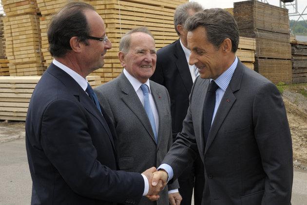 Sarkozy Hollande Elections 2012 : François Hollande et Nicolas Sarkozy bientot au coude à coude (Sondages 2012)