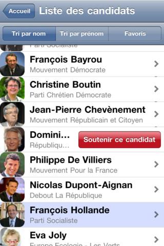 application iphone gratuite Elections 2012 : 2 Applications pour suivre les élections sur votre Smartphone
