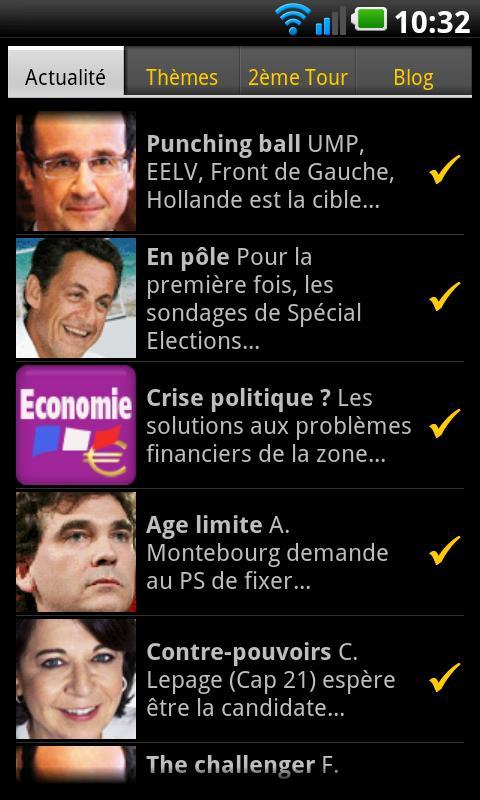 elections 2012 android Elections 2012 : 2 Applications pour suivre les élections sur votre Smartphone