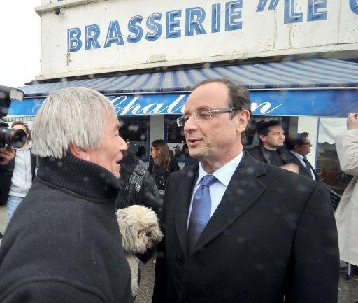 hollande 2012 Elections 2012 : François Hollande candidat aux primaires socialistes