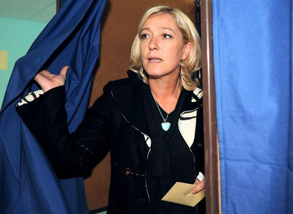 marine lepen 2012 Elections 2012 : Marine le Pen en pole position au Front National