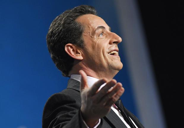 nicolas sarkozy 20121 Elections 2012 : Sarkozy réduit lécart avec Hollande au premier tour de lélection