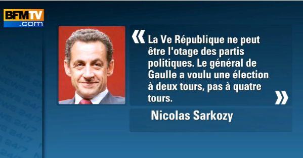 sarkozy 20122 Elections 2012 : Bataille au sommet au PS pour les primaires
